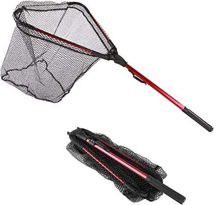 Thekuai Fishing Net Foldable Collapsible Telescopic Pole...