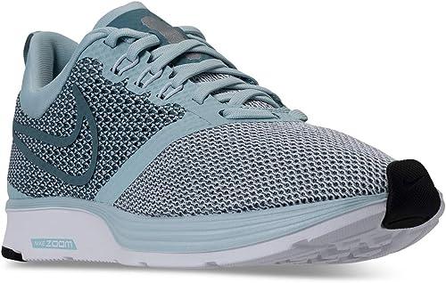 NIKE Wohommes Zoom Strike FonctionneHommest chaussures Ocean Bliss Noise Aqua Aqua blanc noir AJ0188 401 (6.5 M USA femmes)  très populaire