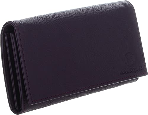 Diva Purple Leather Wallet Purse for Women and Girls DIVA 3310