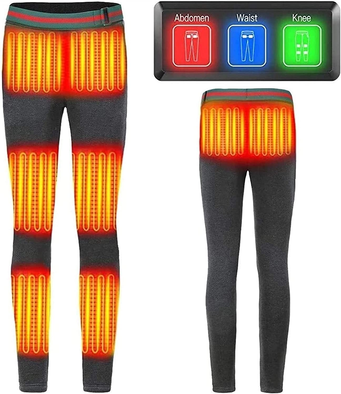 HSY Our shop most popular SHOP Heated Women's Winter Tempera Pants Sacramento Mall Adjustable 3-Speed