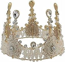 ビジュークラウン お姫様なキラキラ王冠へッドドレス 女性 こども 結婚式 ウェディング 撮影 フォトジェニック ティアラ