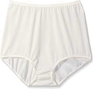 Shadowline Women's Plus Size Panties-Seamless Nylon Brief (3 Pack)