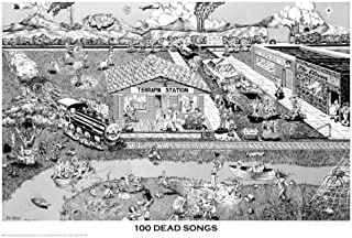 100 dead songs poster