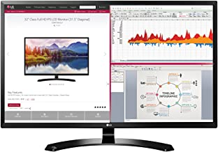 LG 32MA68HY-P 32-Inch IPS Monitor with Display Port and HDMI Inputs