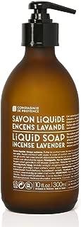 Compagnie de Provence Liquid Marseille Soap Incense Lavender 10 fl oz Glass Bottle