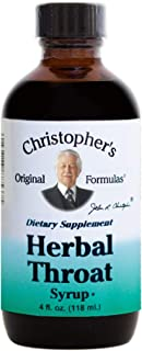 Dr Christopher's Formula Herbal Throat Syrup, 4 Fluid Ounce