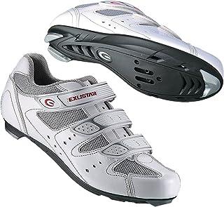 Exustar E-SR442 Road Bike Bicycle Cycling Shoes for Shimano SPD SL Look