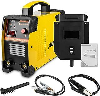"AUTOOL EMW-508 ARC Welding Machine, Arc-200 DC 20-160Amp Welder Overheat Protection IGBT Portable Welding Machine Assembly Fit with 1/8"" Rod, 110V/220V, US Plug"
