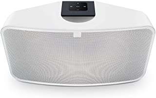Bluesound Pulse Mini 2i Compact Wireless Multi-Room Smart Speaker with Bluetooth -White - Works with Alexa and Siri