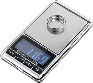 TBBSC Mini Electronic Digital Smart Weigh Scale Balance LCD Jewelry Pocket Gram Weight Scale (100G/0.01G)