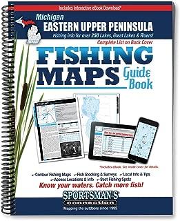 Eastern Upper Peninsula Michigan Fishing Map Guide (Sportsman's Connection)