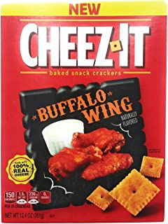 CheezIt Snack Crackers 12.4oz Buffalo Wing Flavored