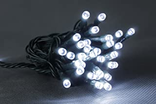 Opus 24v 50L White Multi Function LED String Lights for Christmas Tree/Home Decoration with Transformer Included
