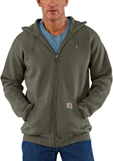 Carhartt Men's Big & Tall Midweight Zip Front Hooded Sweatshirt K122