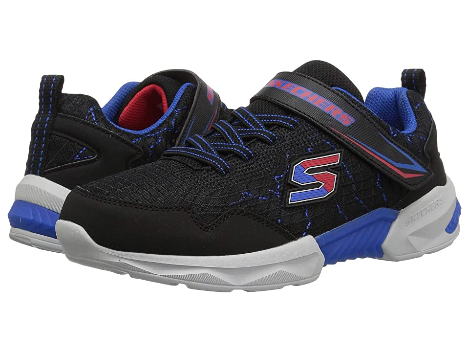 SKECHERS KIDS Techtronix 97841L (Little Kid/Big Kid) (Black/Red/Blue) Boy