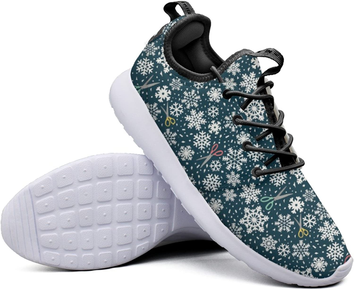 Fashion Sneakers shoes For Women Winter Paper Snowflakes Original Lightweight Breathable Mesh Womens Basketball Sneakers