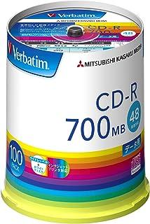 小さくてコンパクト Verbatim Japan1回録音CD-R700MB100枚..