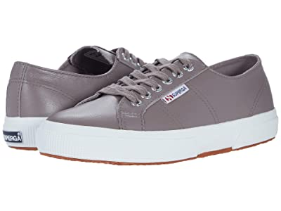Superga 2750 Nappaleau Sneaker (Taupe Leather) Women