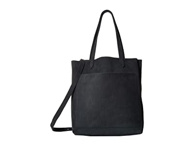 Madewell The Medium Transport Tote (Midnight Spruce) Tote Handbags