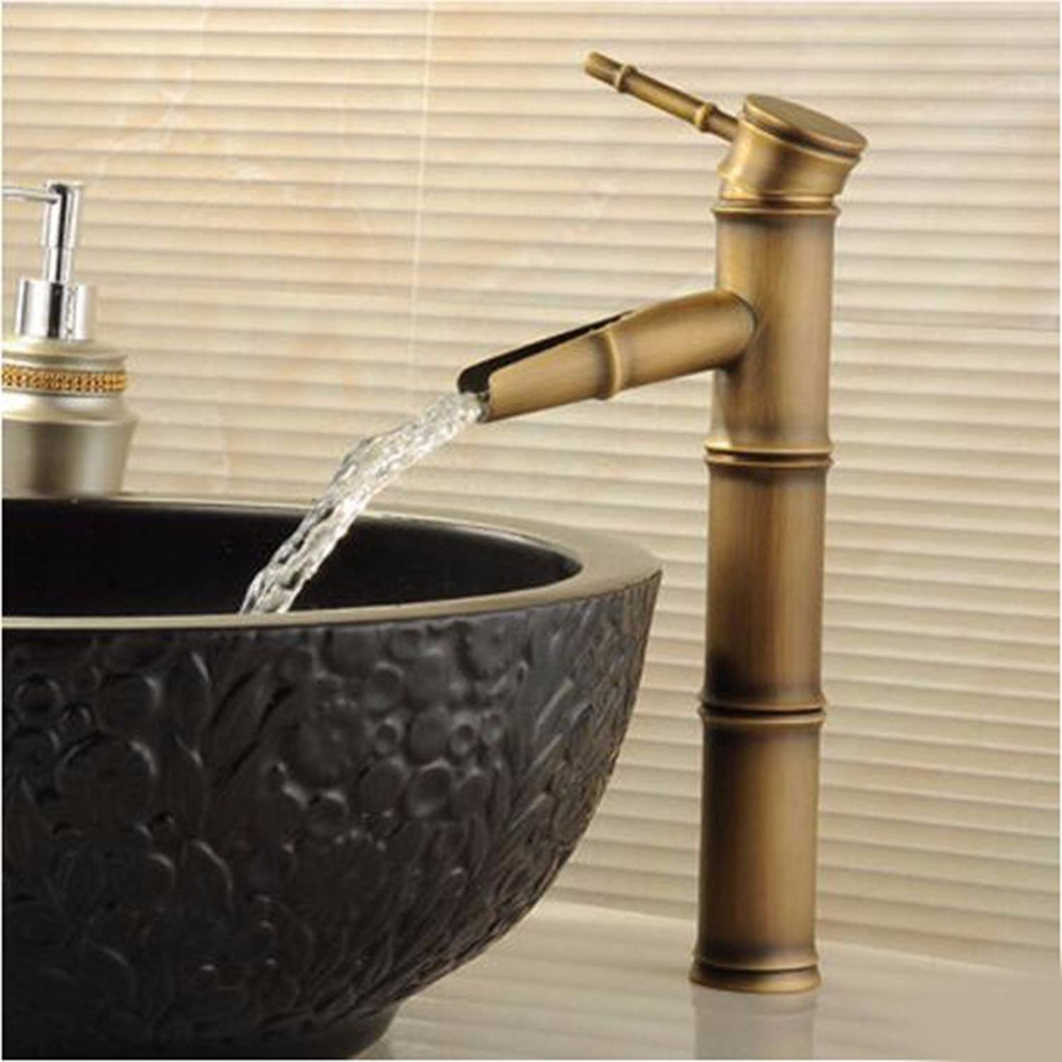 Hlluya Professional Sink Mixer Tap Kitchen Faucet Antique Faucet Washbasin Faucet hot and cold surface basin faucet basin basin mixer