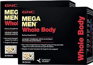 GNC Mega Men Whole Body Vitapak Program - Twin Pack