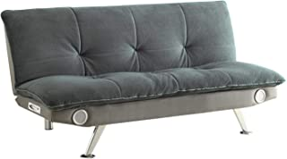 couch bed with speakers