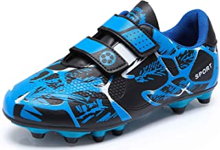 Football Boots Boys Trainers Kids Soccer Athletics Training Shoes Girls Sport Shoes Running Shoes Teenager Outdoor Footbal...
