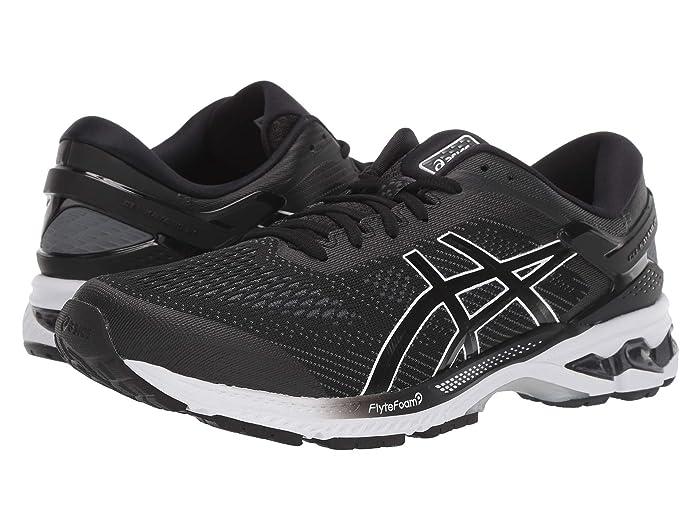 ASICS  GEL-Kayano 26 (Black/White) Mens Running Shoes