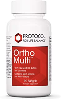 Protocol For Life Balance - Ortho Multi - Complete Multivitamin and Multi-Mineral - Complete Nutrition Fortified with Natu...