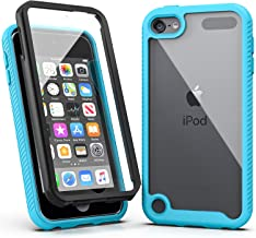 iPod Touch 7 Case,iPod Touch 6 Case,SLMY Armor Shockproof Case with Build in Screen Protector Heavy Duty Shock Resistant H...