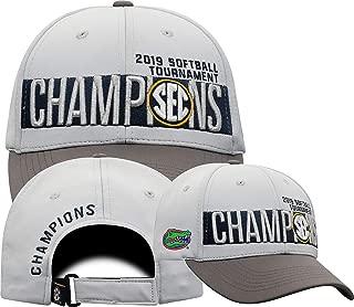 Elite Fan Shop Florida Gators SEC Softball Champs Hat 2019 Locker Room