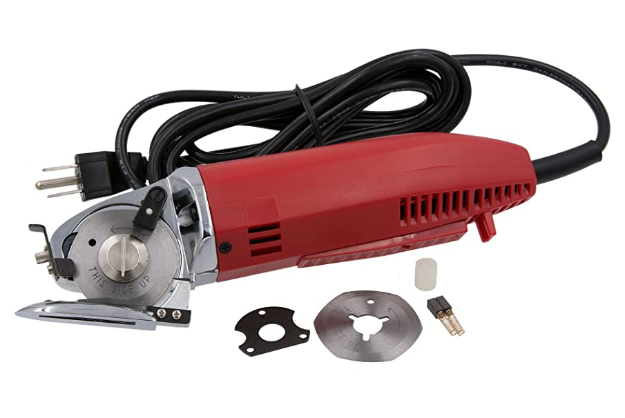 ALLSTAR AS-100K ELECTRIC ROTARY FABRIC CUTTING MACHINE WITH SHARPENER / 110 VOLT