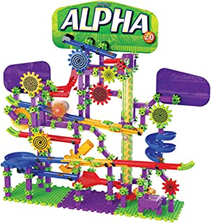 The Learning Journey Techno Gears Marble Mania – Alpha 2.0 (300+ pcs.) – STEM Constructive Play – Interactive Toys & Gifts for Boys & Girls Ages 8 and Up