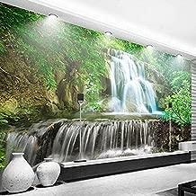 Papel pintado 3D Scenic Waterfall Giant Poster Design Modern Mural de pared Sala de estar Dormitorio Oficina Corredor Decoración de pared Papel tapiz no tejido Papel tapiz 3D Decoración-250cm×170cm