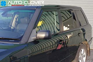 W166 5 doors Crossover SUV Set Of 4 Wind Deflectors Compatible with MERCEDES BENZ GLE CLASS W166 M CLASS W166 2012 2013 2014 2015 2016 2017 2018 2019 Acrylic Glass Side Visors PMMA