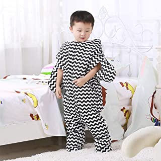 MEI1JIA Cute Starfish Style Baby Sleeping Clothing Bag for 0-6 Month Baby, Size: 85 x 53cm(Black) (Color : Black)
