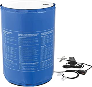 55 Gallon Insulated Drum Heater Blanket - Adjustable Temperature Control to 145176;F