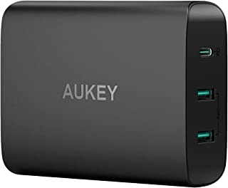 AUKEY 急速充電器 ACアダプター PD3.0対応 60Wタッブレット充電器 USB Type-C Power Delivery 3.0 + 5V/2.4A スマホ充電器 MacBook/Pro, Dell XPS, iPhone X / 8 / Plus, iPhone 11/11 Pro/11 Pro Max,Samsung Note8 など対応 PA-Y12【PSE認証済み】
