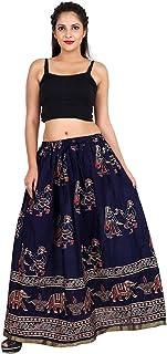 Generic Women'S Navi Blue Skirts(Jiskrt-511_Navi Blue_Free Size)