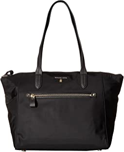 aee5e749a36d Black. 154. MICHAEL Michael Kors. Nylon Kelsey Large Top Zip Tote
