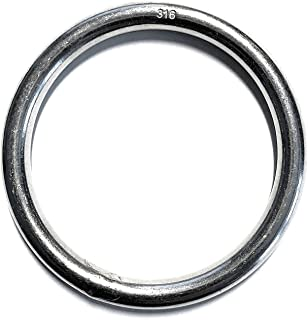 Stainless Steel 316 Round Ring Welded 3/16