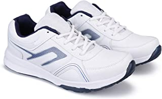 Bersache Casual Sports Lace Up Shoes First time in India Extra Light Weight & Comfortable Shoes for Men White