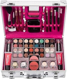 Make-upset - Primaire make-upset voor op reis Complete oogschaduw Blusher Lipstick Lipgloss Oogschaduwcrème Glitter make-u...