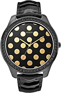 Akribos XXIV Women's Rose Gold Diamond Jewelry Watch - Gray Mother of Pearl Dial with Applied Flowers - Luminous Hands - Link Chain Bracelet - AK645
