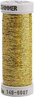 Sulky Sliver Metallic Thread for Sewing, 250 yd, Gold