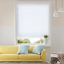 SBARTAR Honeycomb Cellular Shades Cordless Light Filtering for Windows Inside & Outside Mount, 29