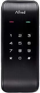 Alfred DB2 Smart Door Lock Deadbolt Touchscreen Keypad, Pin Code + Bluetooth, Up to 20 Pin Codes (Black)
