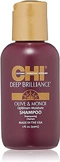 CHI Deep Brilliance Optimum Moisture Shampoo, 2 Fl Oz