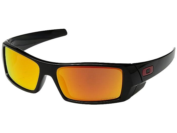 Oakley GasCan (Polished Black w/ Prizm Ruby) Sport Sunglasses