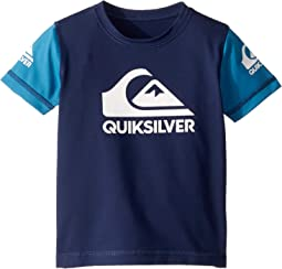Heats On Short Sleeve Surf Shirt (Toddler/Little Kids)